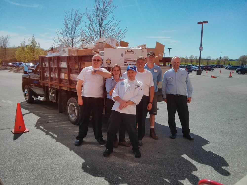 Sysco gr where good things come from for Manna food pantry harbor springs